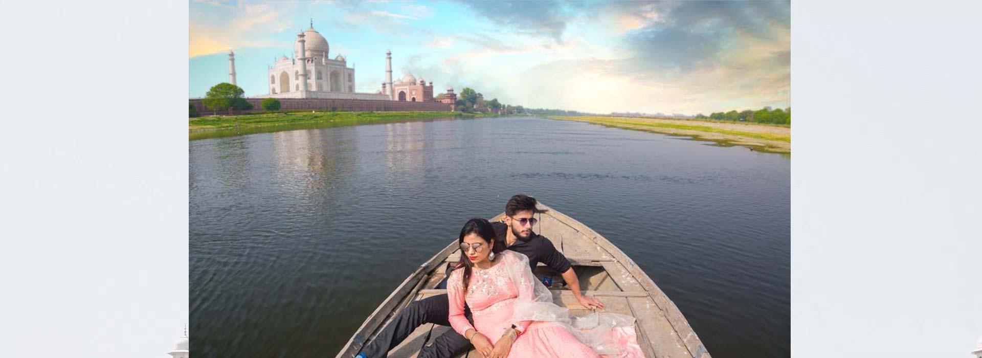 Boat Ride at Jamuna
